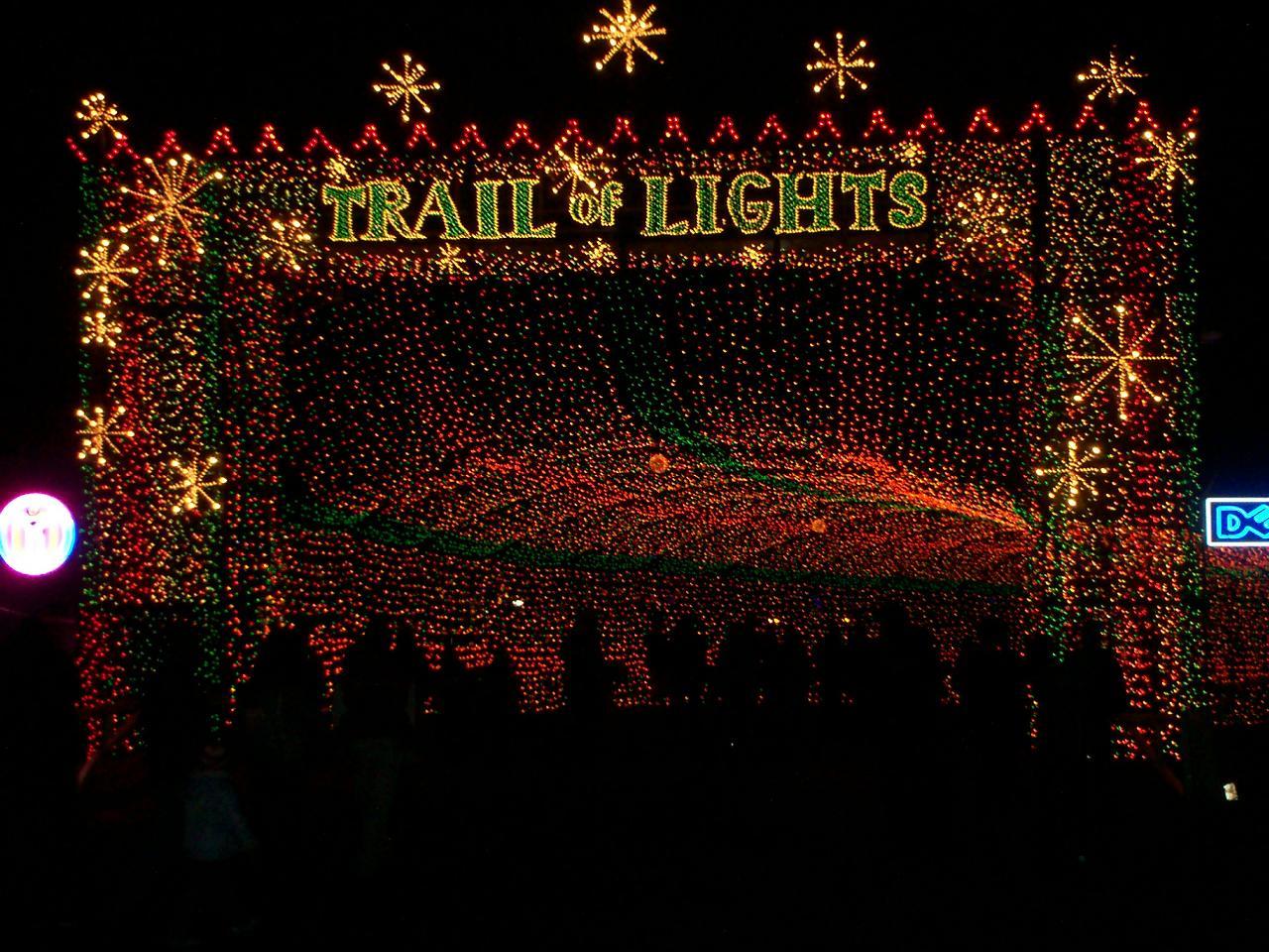 Trail Of Lights   Dec. 14th   23rd @ Austin