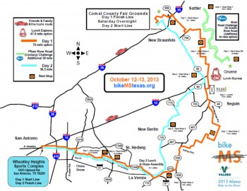 bike-ms-valero-2013-alamo-ride-river-Map
