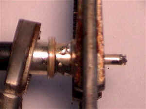 Soldered Center Conductor and Top Two Holes