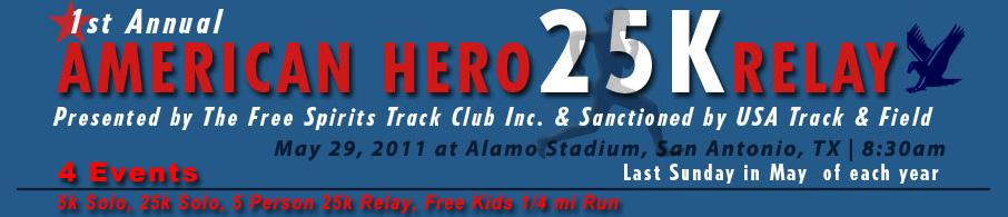 American Hero 25k Relay